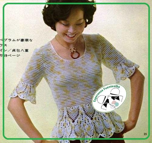 Tejidos de blusas