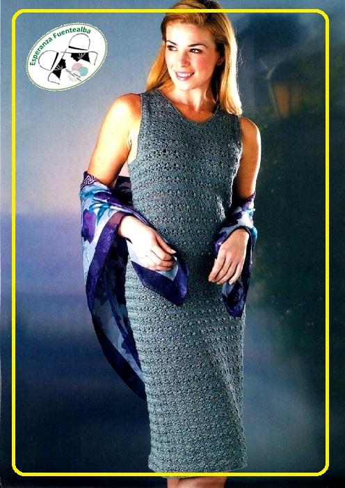 Vestidos de crochet para mujeres