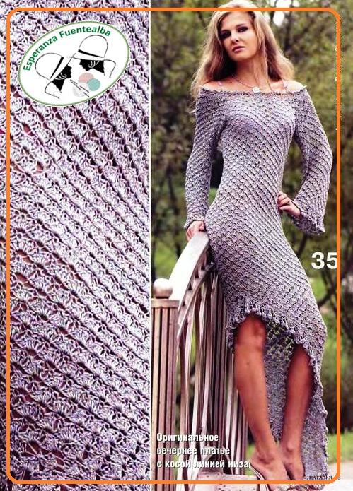 vestidos de gancho