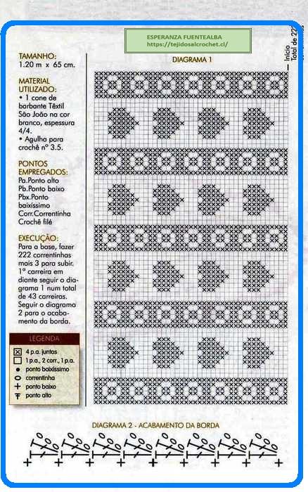 Carpetas tejidas1