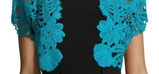 Boleros tejidos a crochet