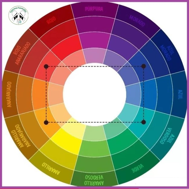 Cómo combinar los colores para Crochet6