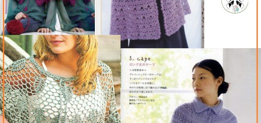 Poncho a crochet patrones