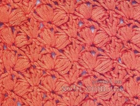 Puntos tejidos a crochet paso a paso
