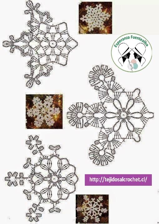 Adornos de navidad crochet4