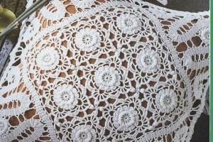 Almohadón al crochet