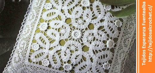 Almohadones al crochet.
