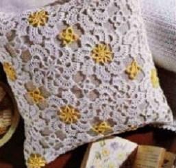 Almohadones al crochet patrones
