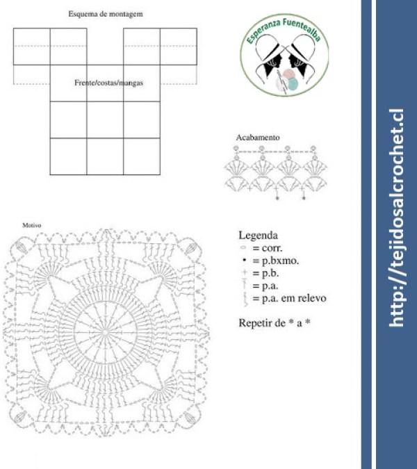 Blusas crochet patrones1