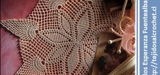 Carpetas tejidas a crochet