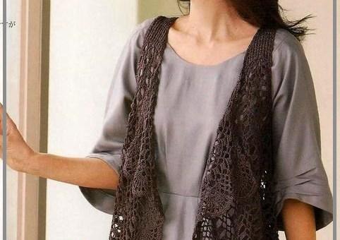 Crochet chalecos patrones