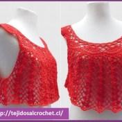 Crochet paso a paso blusas