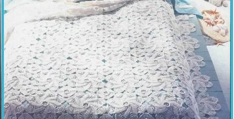 Modelos de colchas tejidas a crochet