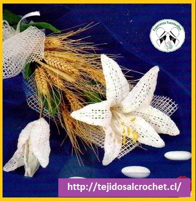 Patrones de flores a crochet1