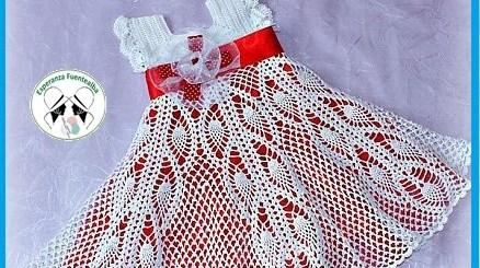 Patrones vestidos bebe