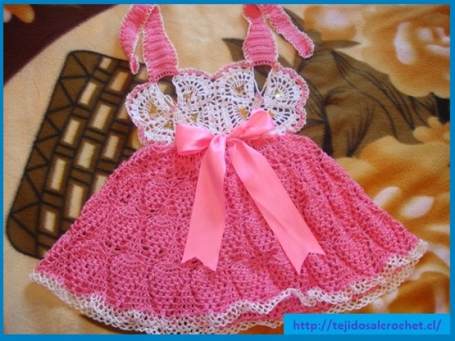 Patrones vestidos de niña
