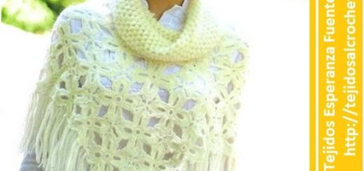 Poncho a crochet facil