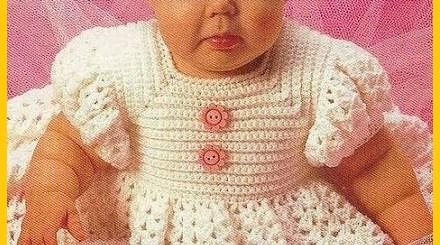 Ropones para bebes recién nacidos a crochet