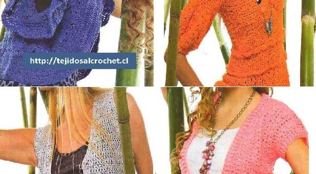 Tejidos a crochet paso a pasode chalecos