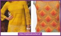 blusas tejidas sencillas