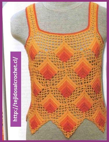 blusas tejidas sencillas3