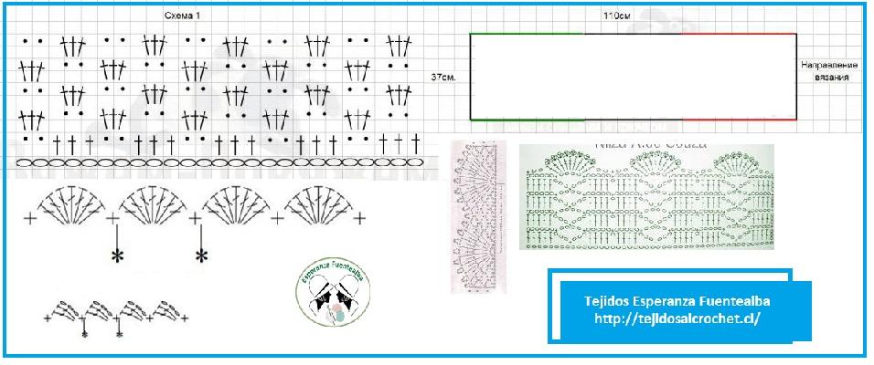 Blusas de crochet patrones1