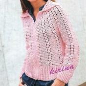 Crochet sueter