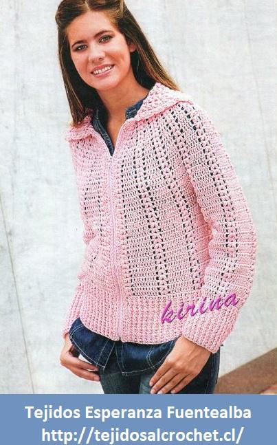 Crochet suéter