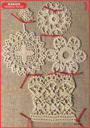 Crochet pdf. Revista con increíbles y muy elegantes motivos Crochet