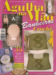 Revista crochet juego de baño. Patrones de juegos de baños crochet