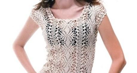 Patrones de blusas tejidas
