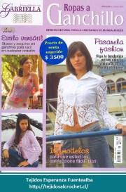 Revistas de tejido a gancho. 15 modelos de ropa en crochet con patrón
