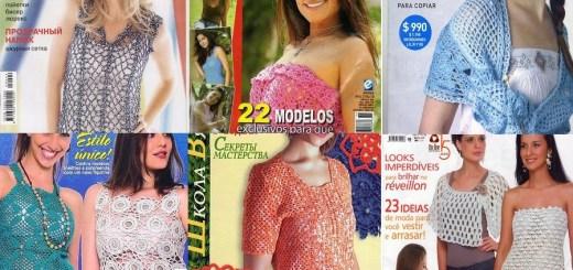 Revistas tejidos en Crochet