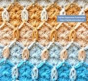 Tutoriales de crochet gratis. Puntada crochet para tejer cualquier prenda