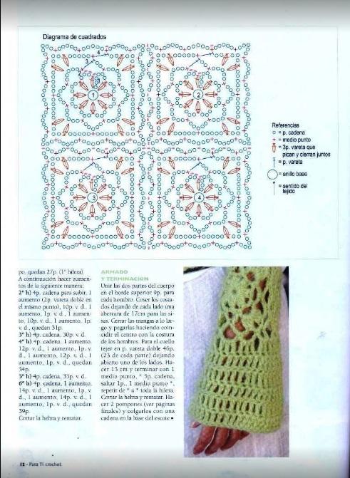 Blusa Crochet Invierno1