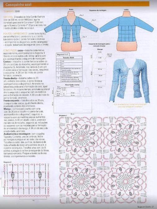 Chaleco crochet abierto1