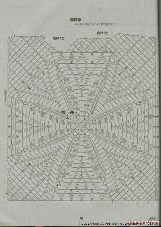 Crochet Blusa sin mangas1