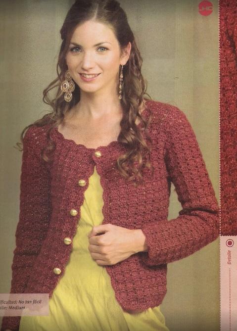 Crochet chaleco otoño
