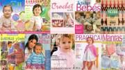 Revistas de crochet para niños. Impresionante colección de 10 revistas