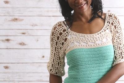 Túnica de Mar a Crochet By I Like Crochet