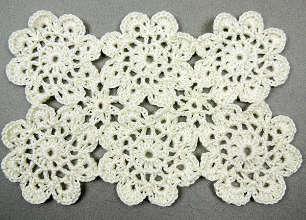 Crochet Motivos Flores Y Cuadrados Tejiendo De Corazon