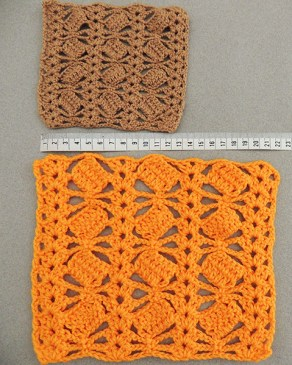 Crochet different neddle