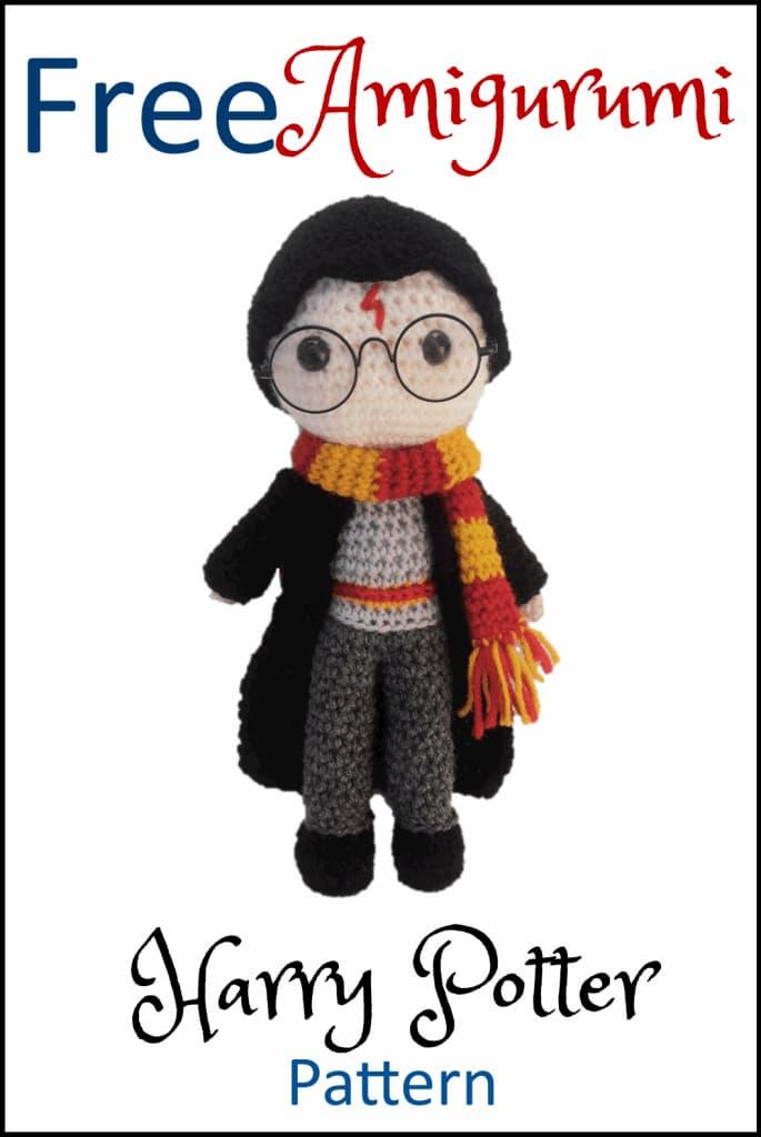 Patrón gratis Harry Potter amigurumi crochet