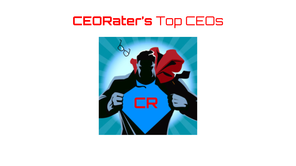CEORater's Top CEOs