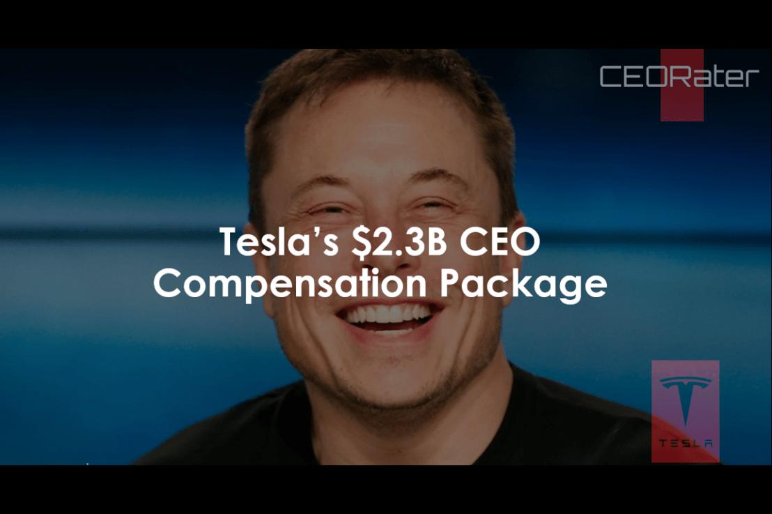 Tesla's $2.3 Billion CEO Compensation Package