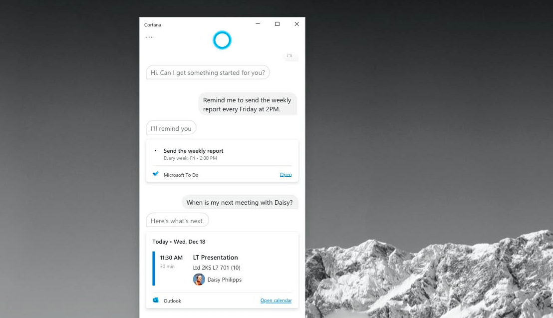 Microsoft Cortana. No Longer A Player In The Home.