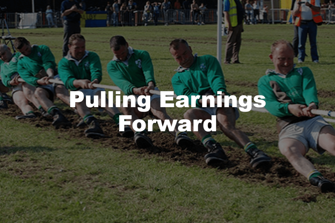 How Much Future Earnings Have We Pulled Forward?
