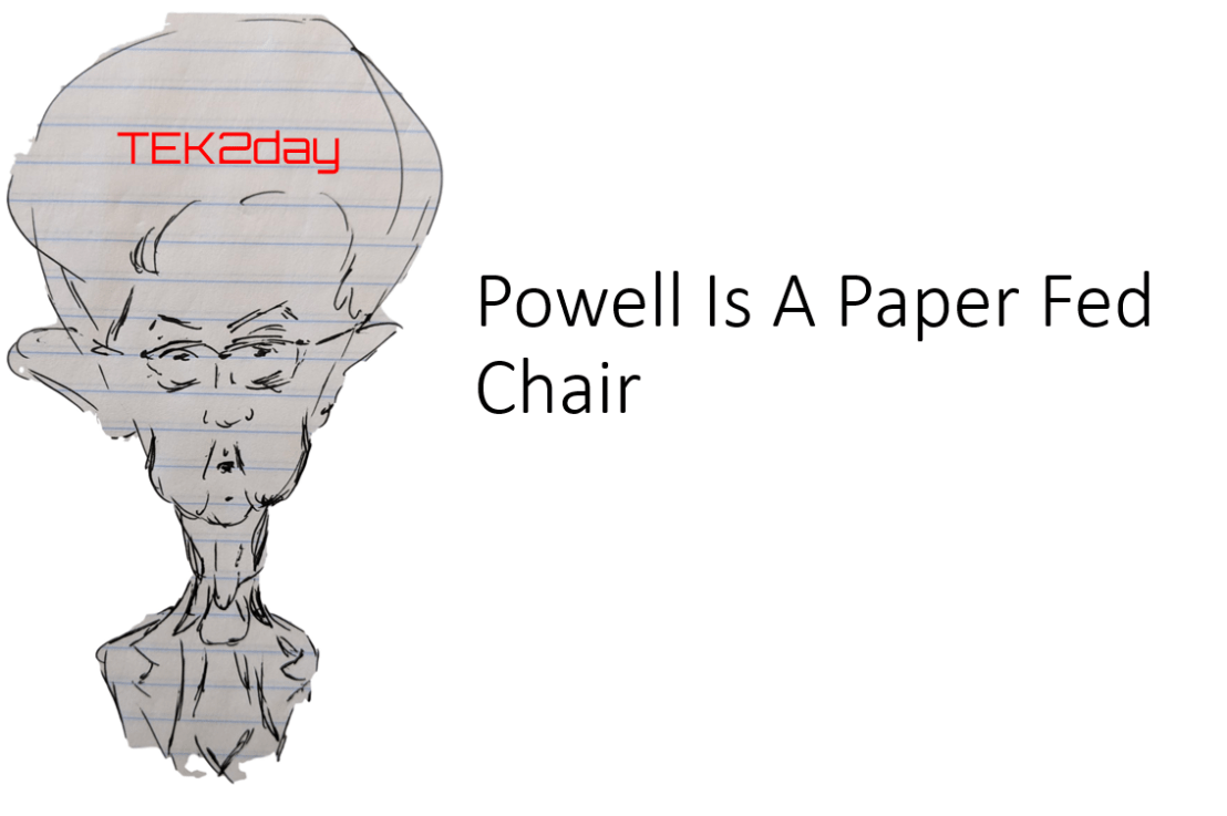 Powell Is A Paper Fed Chair. That's Good News for Stocks.