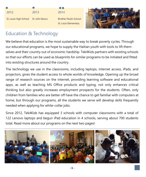 2014 annual reports page 7