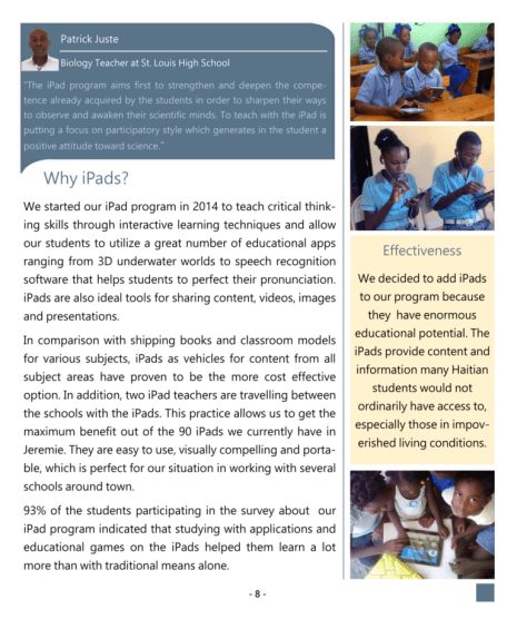 2014 annual reports page 9
